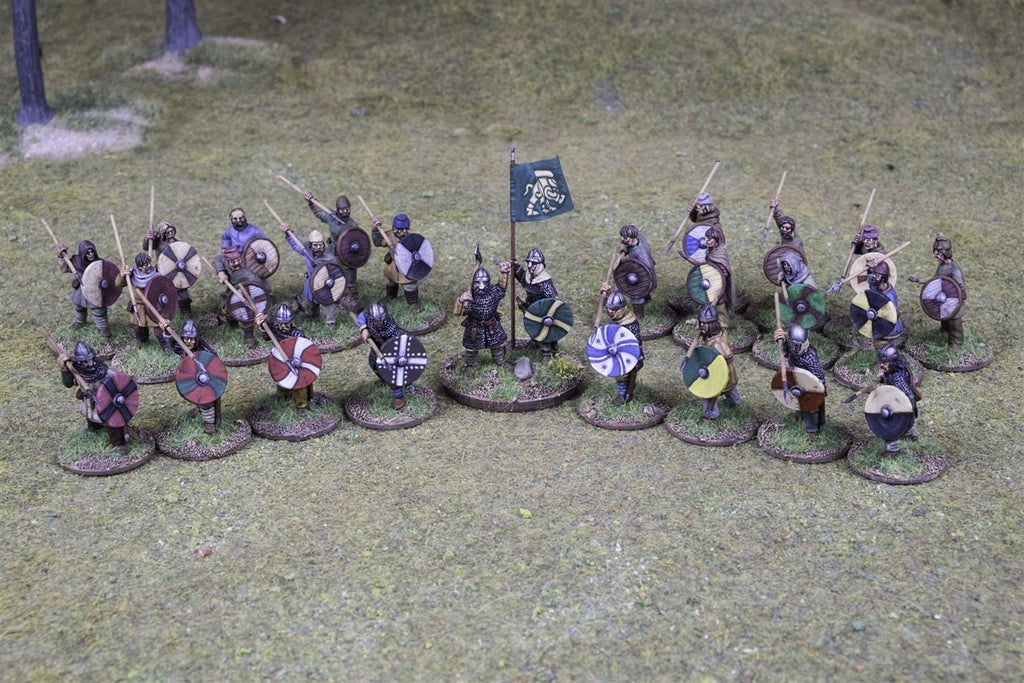 28mm Anglo-Saxon Skirmish Warband for Saga