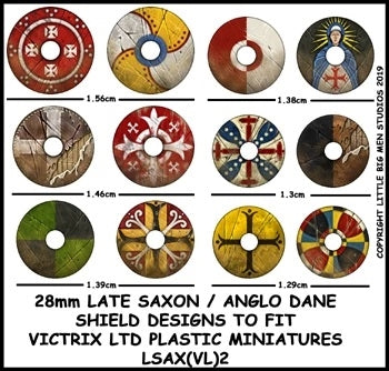 Late Saxon / Anglo Dane Shield Designs LSAX 2