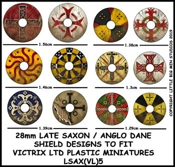 Late Saxon / Anglo Dane Shield Designs LSAX 5