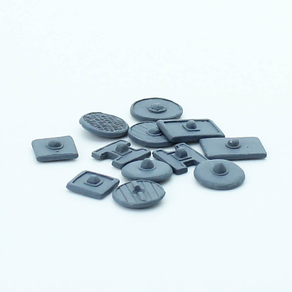 28mm Pict/Scot Square and Round mixed shields pack