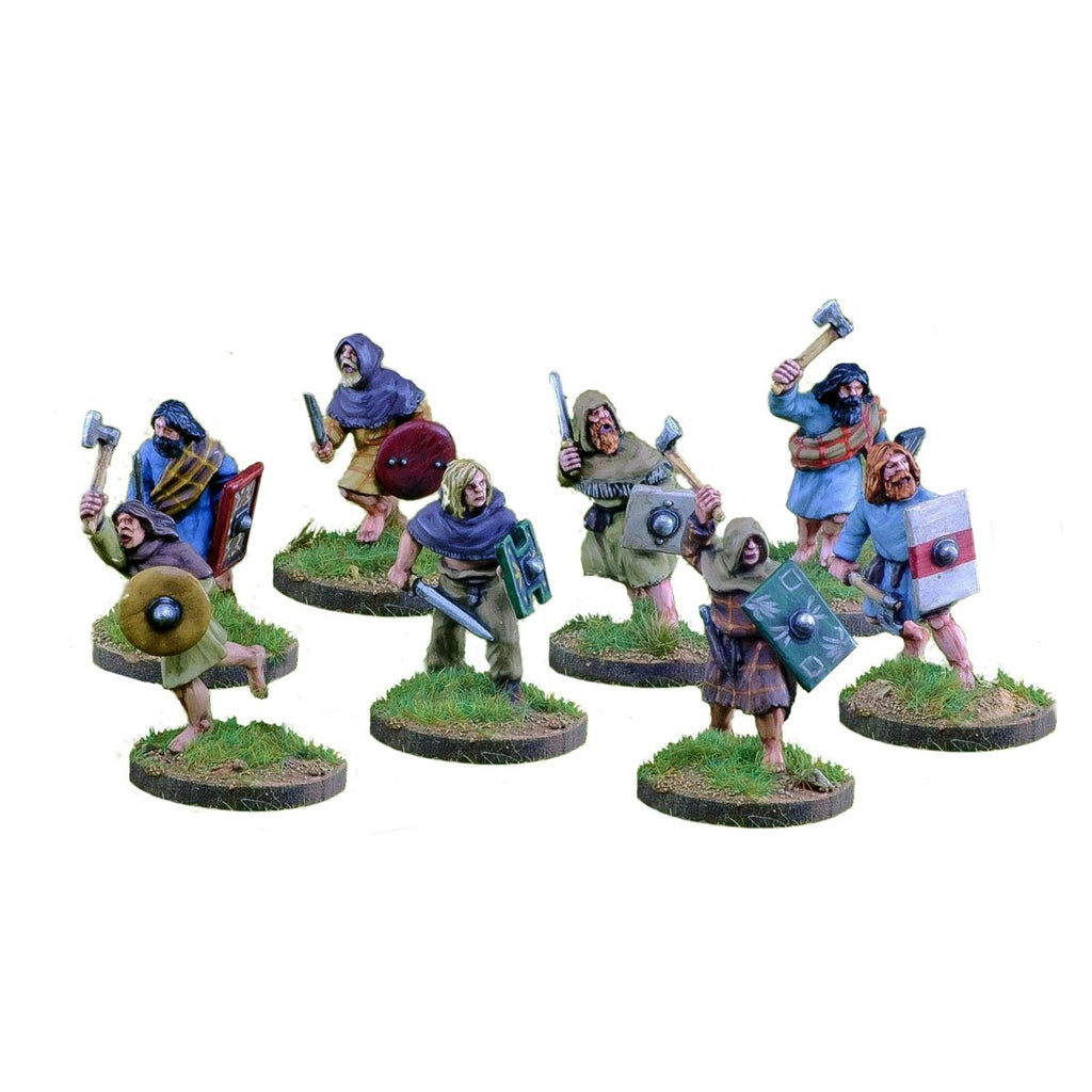 28mm Pict/Scots Warriors with Hand Weapons 1 point