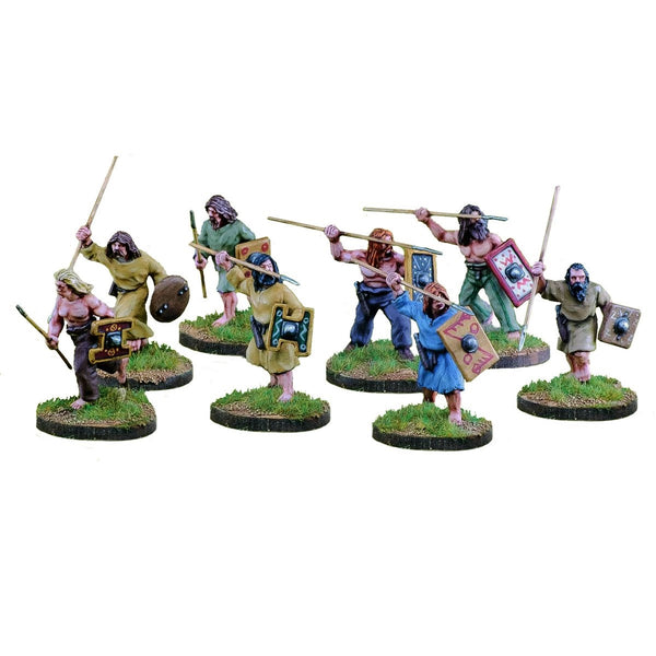 28mm Scots  Pict/Scots Warriors with Javelins 1 Point
