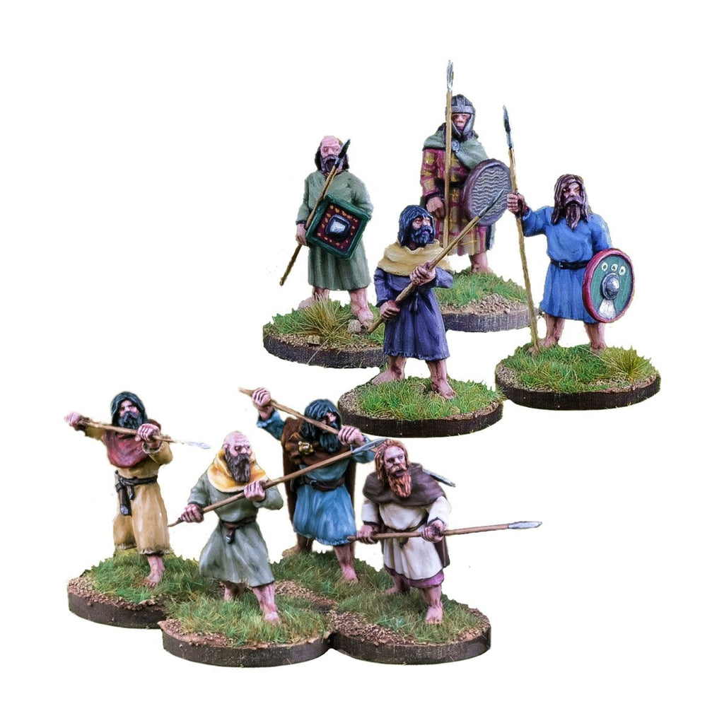 28mm Pict/Scots Spearmen 1 point