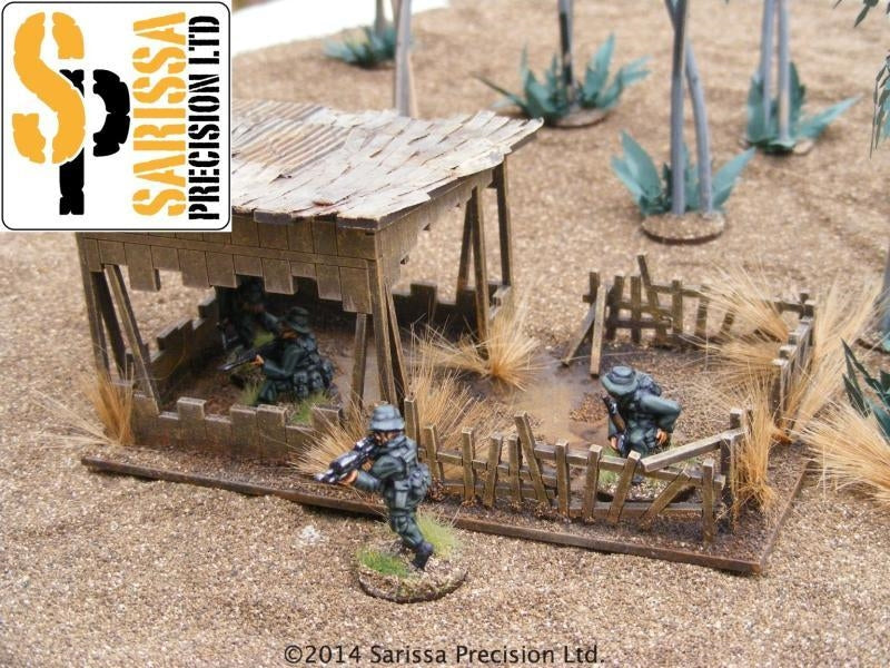 28mm Modern Outpost