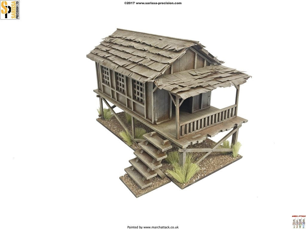 28mm Modern Small Village House