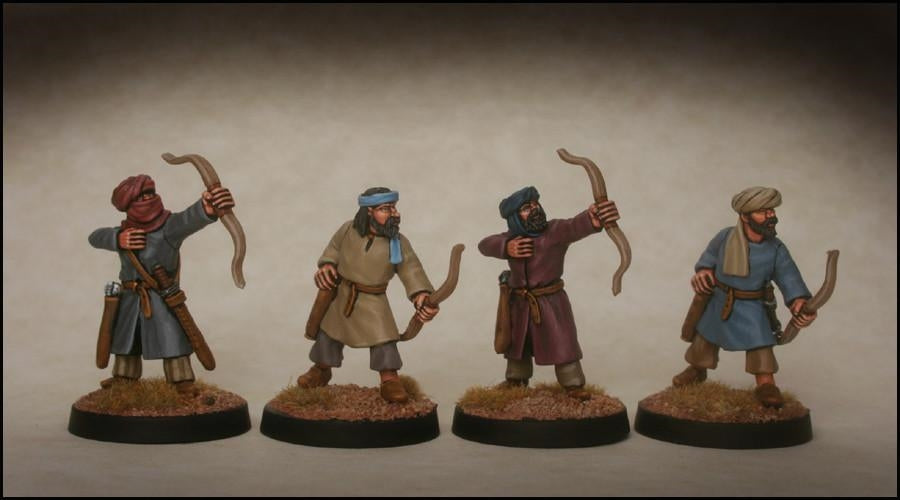 28mm  Arab Archers with Solenarion