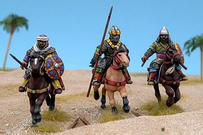 28mm Arab Heavy Cavalry #1