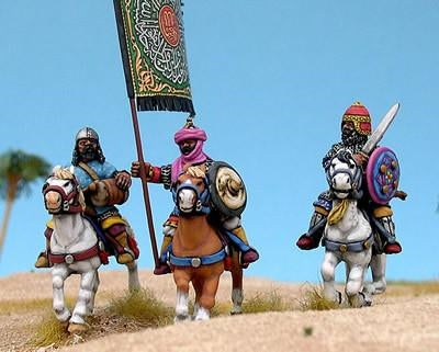 28mm Arab Heavy Cavalry Command
