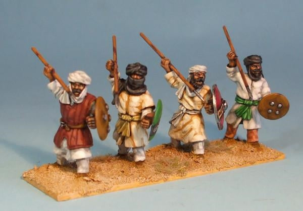 28mm Arab Infantry with Spears