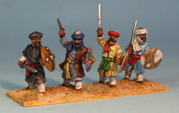 28mm Arab Infantry with Swords