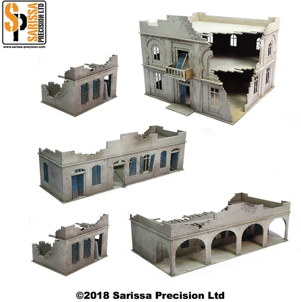 28mm Modern North Africa Scenery Set