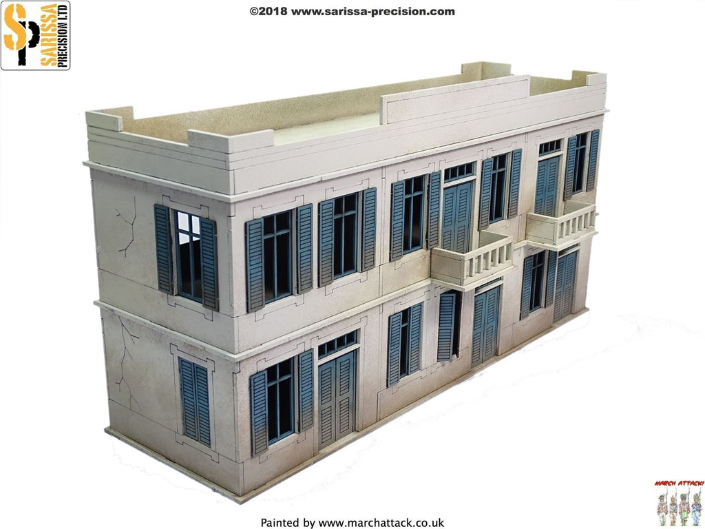 28mm Modern Large Two-Storey Building