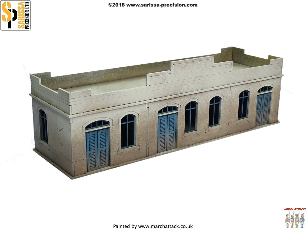28mm Modern Large Single-Storey Building