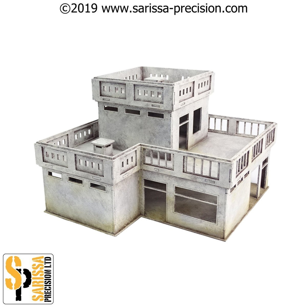 28mm Modern Ambassador's House