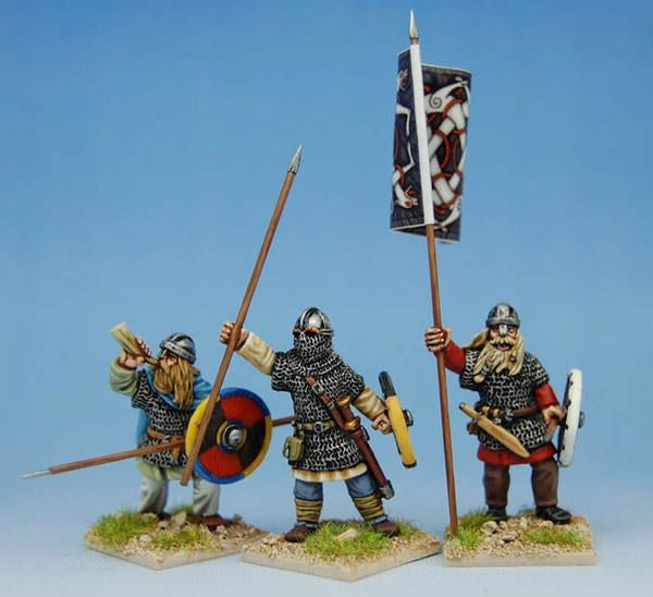 28mm Early Saxon Heavy Infantry Command