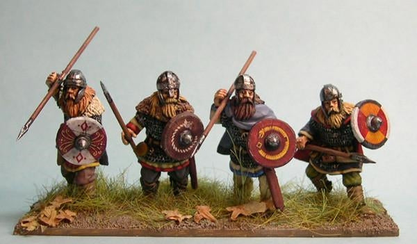 28mm Early Saxon Heavy Infantry