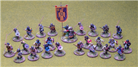 28mm  Early Saxon Skirmish Warband for Saga