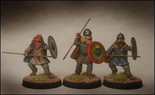 28mm  Early Saxon Infantry