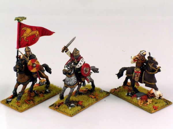 28mm  Early Saxon Cavalry Command