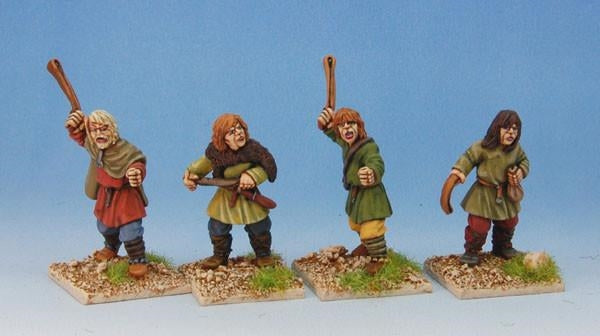 28mm Early Saxon Slingers
