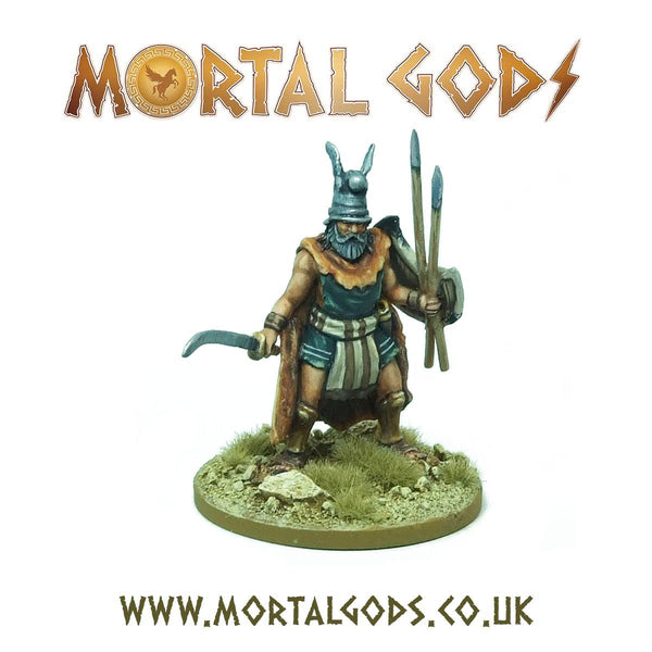 28mm Mortal Gods Skorylos, Noble of Thrake