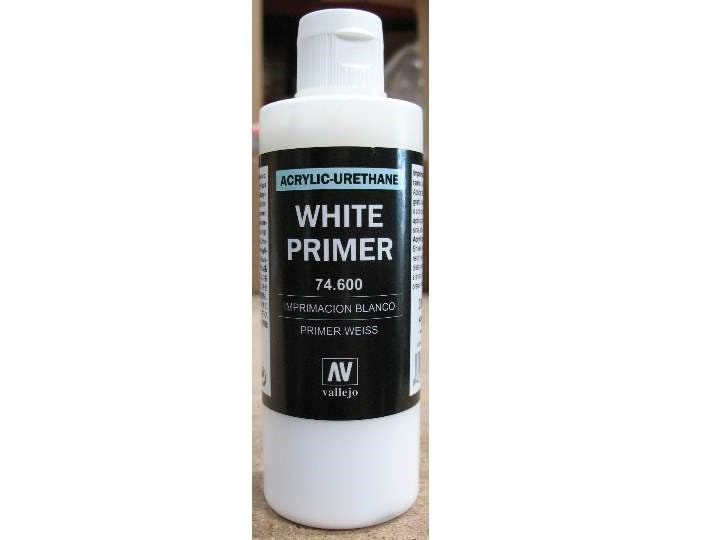 Vallejo Surface Primer 200ml White