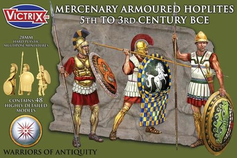 Victrix Mercenary Armoured Hoplites 5th to 3rd Century BCE