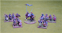 28mm Visigoth 4 point Saga warband #1