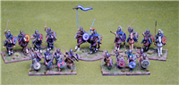 28mm Visigoth 4 point Saga warband #2