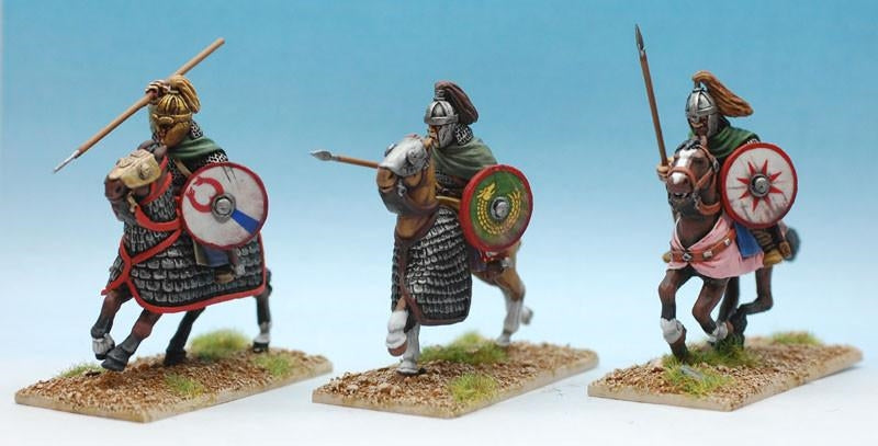 28mm Goth Noble Cavalry