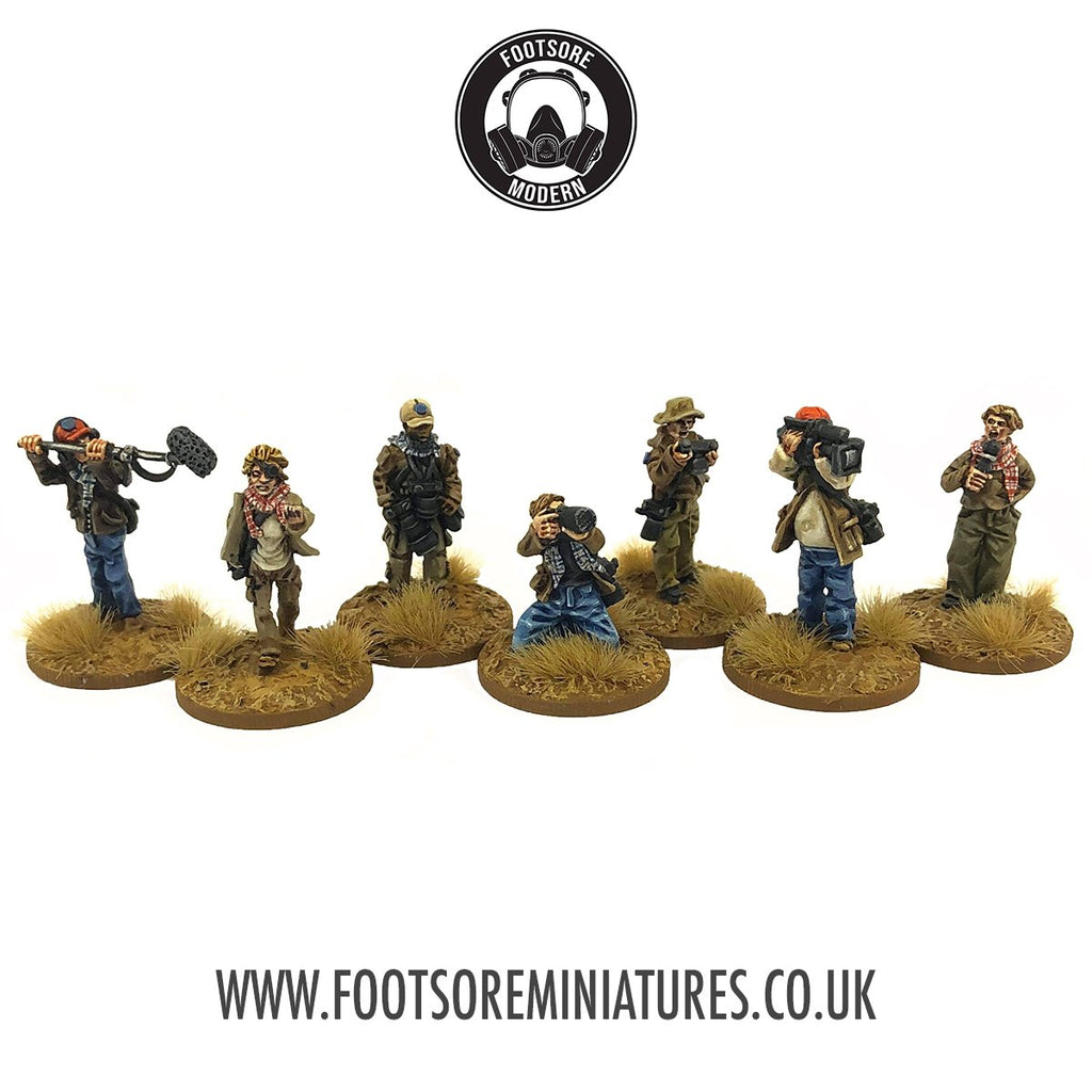28mm Modern War Correspondents