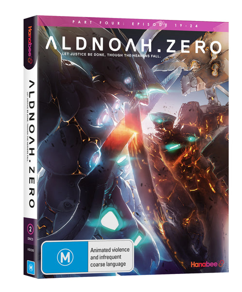 ALDNOAH.ZERO: PART 4 (BLU-RAY)