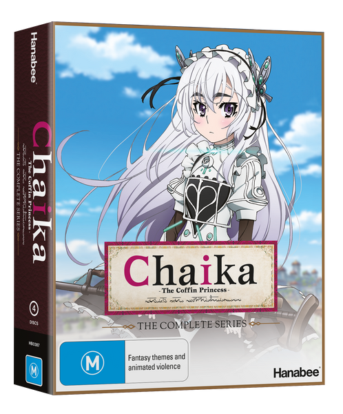 BOXSET: CHAIKA THE COFFIN PRINCESS (BLU-RAY)