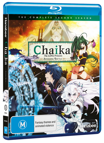 CHAIKA THE COFFIN PRINCESS - SEASON 2 (BLU-RAY)