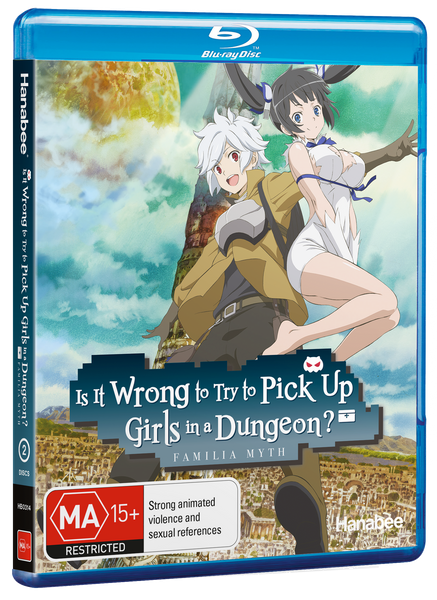 IS IT WRONG TO TRY TO PICK UP GIRLS IN A DUNGEON? (BLU-RAY)