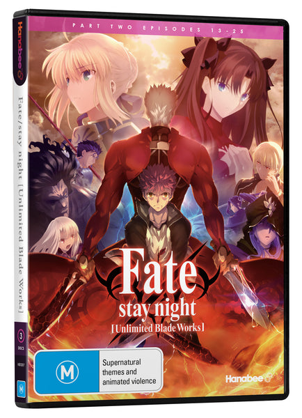FATE/STAY NIGHT: UNLIMITED BLADE WORKS - PART 2