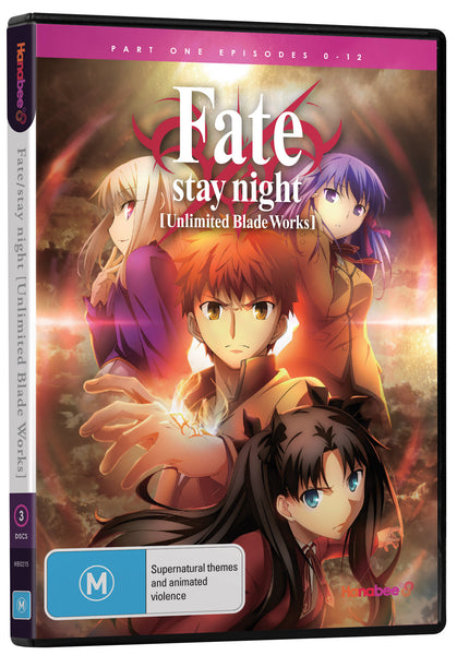 FATE/STAY NIGHT: UNLIMITED BLADE WORKS - PART 1