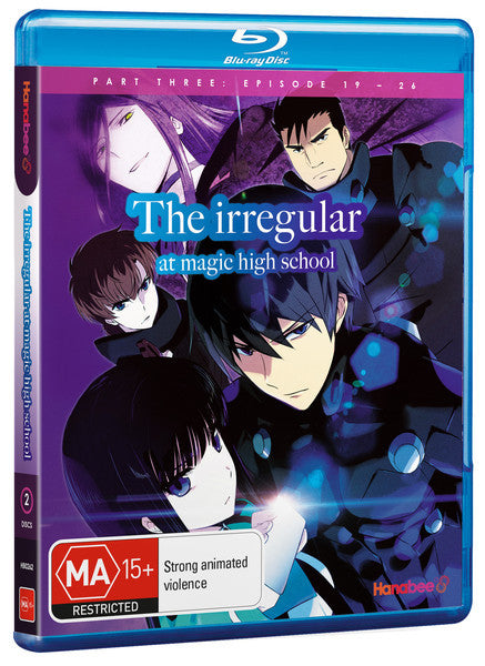 IRREGULAR AT MAGIC HIGH SCHOOL - PART 3 (BLU-RAY)