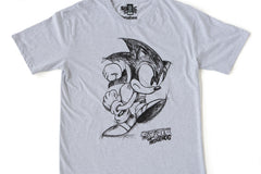 SEGA Sonic Sketch Light Grey T-Shirt