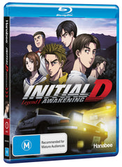 Initial D Legend 1 Awakening Blu-Ray