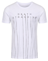 Death Stranding Logo Mens White Tee
