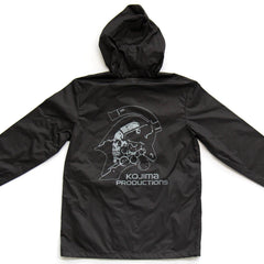 Kojima Productions Black Techwear Jacket