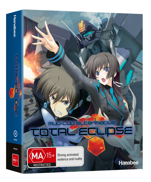 BOXSET: MUV LUV - TOTAL ECLIPSE (BLU-RAY)