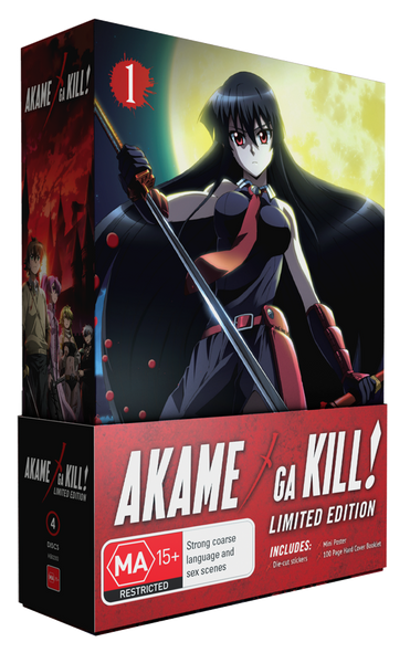AKAME GA KILL! - LTD ED PART 1 BOXSET (COMBO)