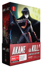 AKAME GA KILL - PART ONE (LIMITED EDITION COMBO)