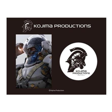 KOJIMA PRODUCTIONS BADGE - SET 1 (WHITE)