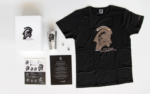 KOJIMA PRODUCTIONS MERCH BOX
