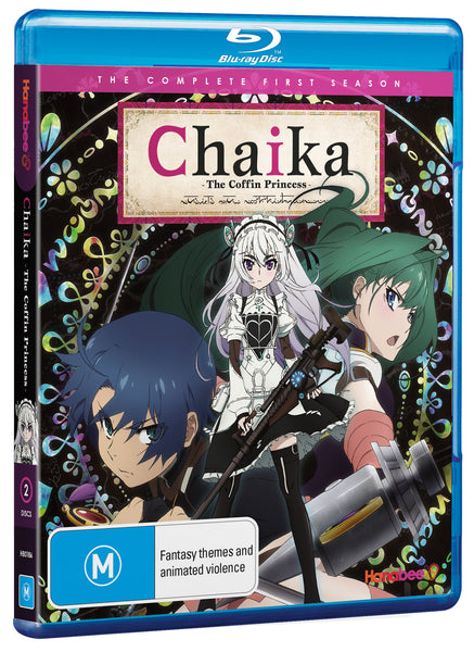 CHAIKA THE COFFIN PRINCESS - SEASON 1 (BLU-RAY)