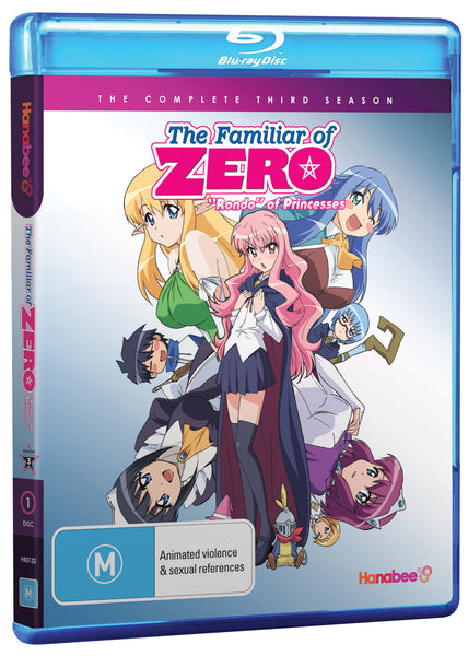 FAMILIAR OF ZERO - SEASON 3 (BLU-RAY)