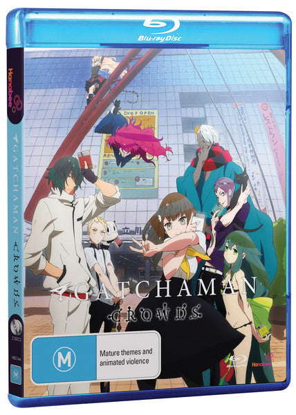 GATCHAMAN CROWDS (BLU-RAY)